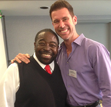 David Bayer and Les Brown