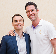 David Bayer and Brendon Burchard