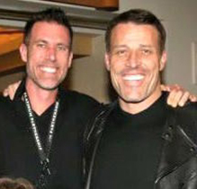 David Bayer and Tony Robbins